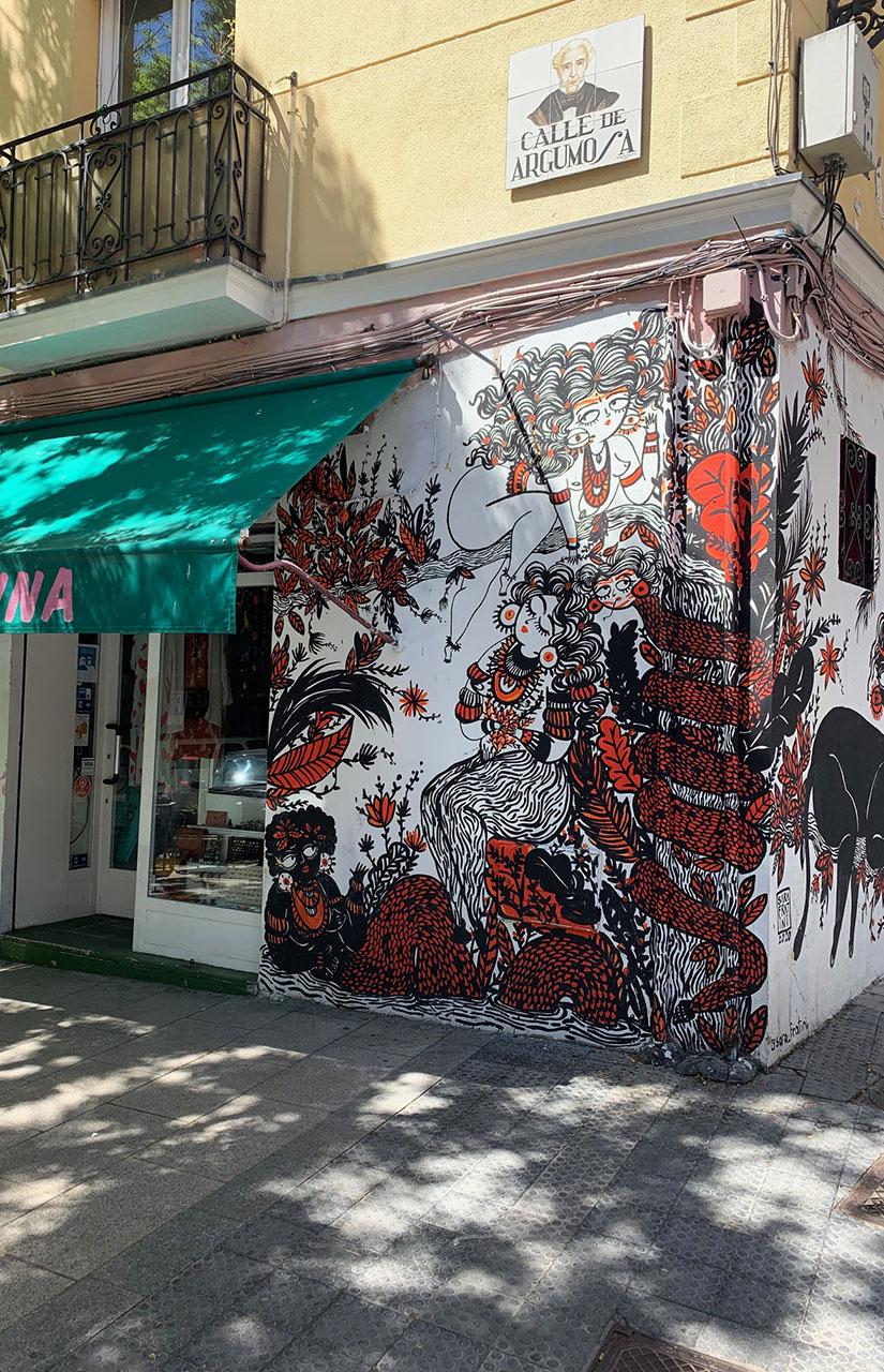 Grafiti de Sara Fratini